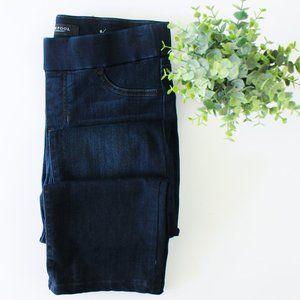 Liverpool Jillian Pull On Straight Denim Jeans